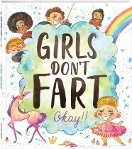 Girls Don't Fart, Okay!! Hardback