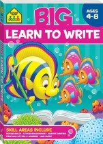 School Zone Big Learn to Write Workbook