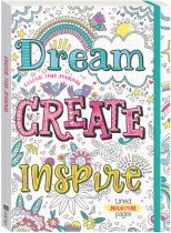 Colour This Journal: Dream, Create, Inspire