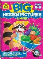 School Zone Big Hidden Pictures Activity Book