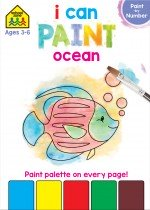 School Zone I Can Paint: Ocean