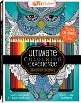 Art Maker Magnificent Creatures Colouring Kit