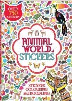 Michael O'Mara Animal World of Stickers