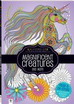 Kaleidoscope Colouring: Magnificent Creatures and more