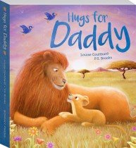 Hugs for Daddy Board Book