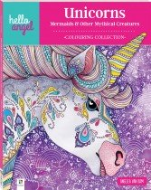 Hello Angel Inspirational Colouring Book: Unicorns