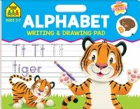 School Zone Writing and Drawing Pad: Alphabet