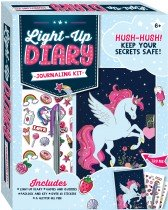 Unicorn Light-up Diary Journaling Kit
