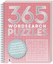 365 Puzzles: Word Search (2019 Ed)