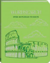 Deluxe Faux Leather Puzzles: Wordsearch