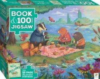 Book with 100-piece jigsaw: Wind in the Willows
