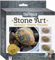 CraftMaker Metallic Rock: Pretty Paisley