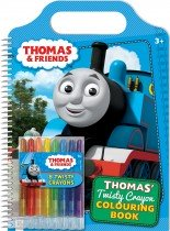 Thomas and Friends: Thomas' Twisty Crayon Colouring Book
