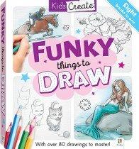 Kids Create: Funky Things to Draw Mini Binder