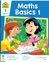 School Zone Maths Basics 1 I Know It Book