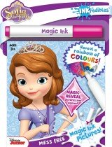 Inkredibles Sofia the First Magic Ink Pictures