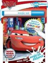 Inkredibles Cars Magic Ink Pictures