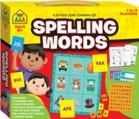 School Zone Learning Set Spelling Words