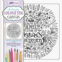 Artists' Colouring Canvas: Nature's Masterpieces