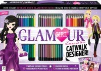 Glamour Girl Learn to be a Catwalk Designer 30-Pencil Set