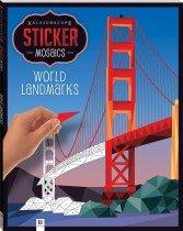 Kaleidoscope Sticker Mosaics: World Landmarks