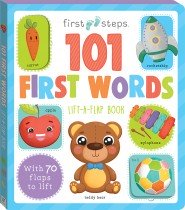 First Steps Large Foam Book 101 First Words