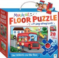 Nursery Rhymes Floor Puzzle with Sound: Wheels on the Bus