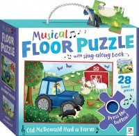 Nursery Rhymes Floor Puzzle with Sound: Old McDonald