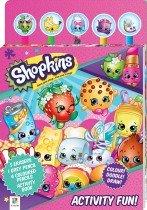 Shopkins Activity Fun 5-Pencil and Eraser Set