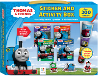 Thomas Sticker and Activity Box
