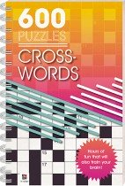 600 Puzzles: Crosswords