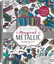 Kaleidoscope Magical Metallic Marker Kit
