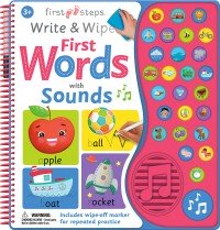 Write and Wipe First Words with sound
