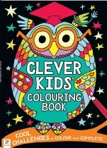 Clever Kids: Colouring Book