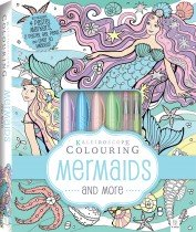 Kaleidoscope Pastel Colouring Kit: Mermaids and More