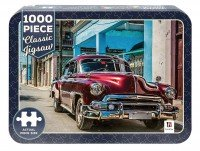 Classic Jigsaws: Classic Car on Cuban 1000-piece Jigsaw