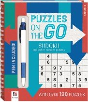 Puzzles on the Go: Sudoku and Other Number Puzzles  Series 8