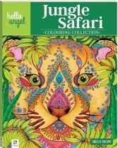 Hello Angel Inspirational Colouring Book: Jungle Safari