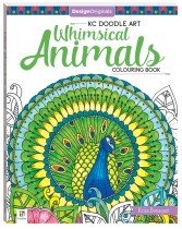 Design Originals Whimsical Animals Colouring Book