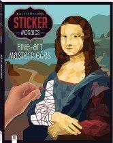 Sticker Mosaics: Fine Art Masterpieces