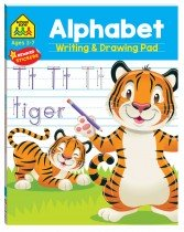 School Zone: Alphabet Writing and Drawing Pad