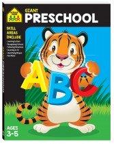 Giant Workbook: Preschool