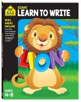 Giant Workbook: Learn to Write