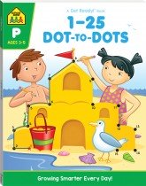 1-25 Dot-to-dot: A Get Ready Book (2019 Ed)
