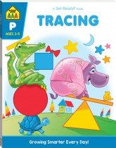 School Zone: Tracing: A Get Ready Book (2019 Ed)