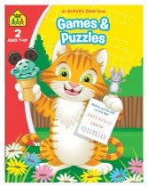 Games and Puzzles: An Activity Zone Book (2019 Ed)