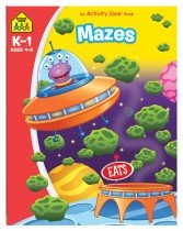 Mazes: An Activity Zone Book (2019 Ed)