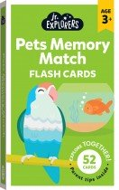 Junior Explorers: Pets Memory Match Flash Cards (small forma