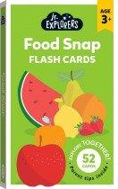 Junior Explorers: Food Snap Flash Cards (small format)