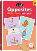 Junior Explorers: Opposites Slide & Learn Flash Cards